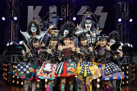 ももいろクローバーZ vs KISS Photo by Hiroshi Manaka