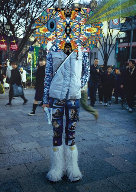 清川あさみ『TOKYO モンスター』 ©Asami Kiyokawa / ©FRUiTS