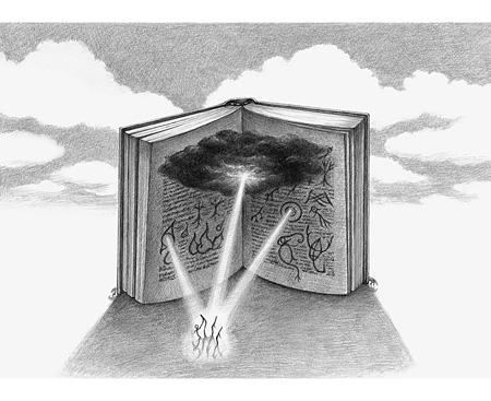 『森羅万象をかたどった文字をくれた』 ©Tomoko Konoike