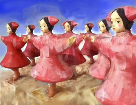 『さらば!原子力ロボむつ ~愛・戦士編~』メインビジュアル クリエーション:山下昇平