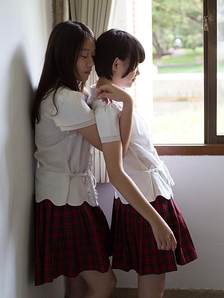 青山裕企『台湾可愛 Taiwan Kawaii School Girl』(美術出版社)より