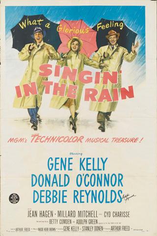 『雨に唄えば』ポスター
