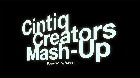 「Cintiq Creators Mash-up Powerd by Wacom」ロゴ