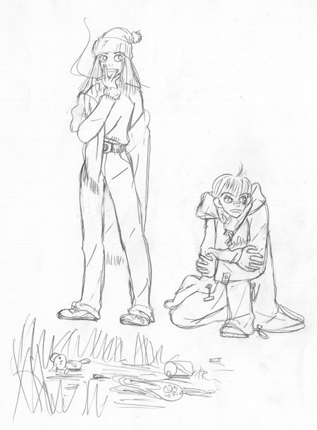 『リバーズ・エッジ』カバー原画 ©岡崎京子/宝島社