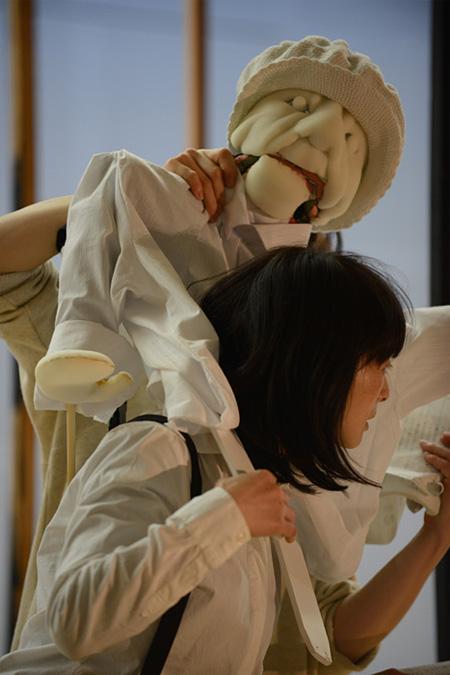 『グスコーブドリの伝記』稽古場風景 提供:SPAC-静岡県舞台芸術センター