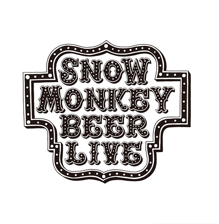 『SNOW MONKEY BEER LIVE』ロゴ
