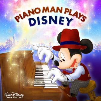 『PIANO MAN PLAYS DISNEY』ジャケット