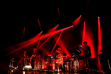 『くるりワンマンライブツアー2014 「金の玉、ふたつ」』より