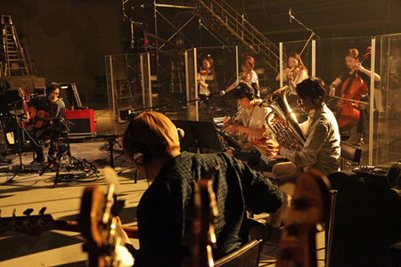 NHK『THE RECORDING』収録風景