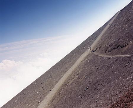 石川直樹『Mt. Fuji』 2008年 タイプCプリント