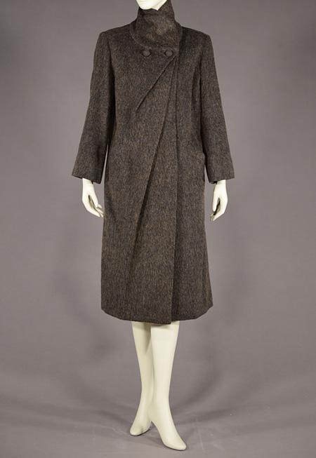 クリスチャン・ディオール DESIGNED BY DAIMARU OSAKA コート/1954-55年 上田安子服飾専門学校蔵
