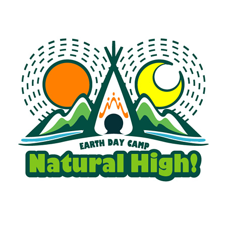 『Earth Day Camp Natural High!2015』ロゴ