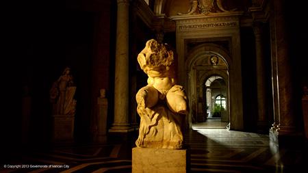 『ヴァチカン美術館4K/3D 天国への入口』 ©copyright direzione dei musei - governatorato s.c.v