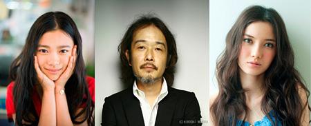 左から杉咲花、リリー・フランキー、市川紗椰 ©2015「トイレのピエタ」製作委員会