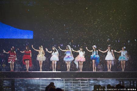 『アイドルの涙 DOCUMENTARY of SKE48』 ©2015「DOCUMENTARY of SKE48」製作委員会