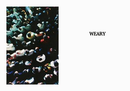 『WEARY』メインビジュアル