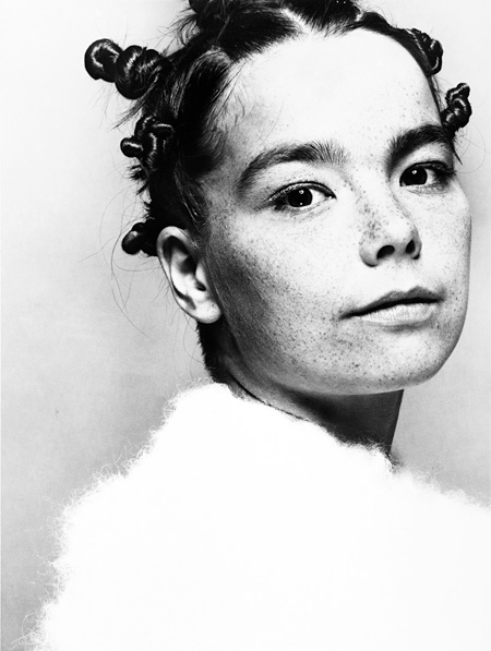 Björk, The Face, 1993. Credit: Photo by Glen Luchford