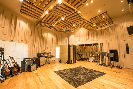 Red Bull Studios Tokyoの様子