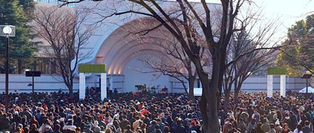 """『""""クラムボン 祝!結成20周年スペシャルフリーライブat 代々木公園""""』より photo by yoshiharu ota"""