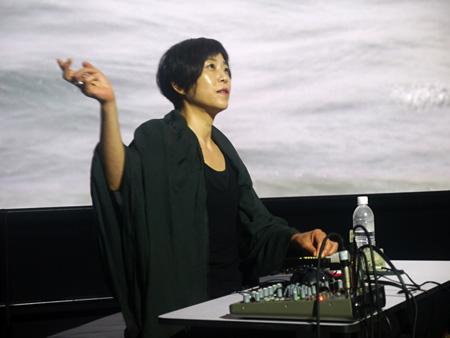 Sachiko M photo by Tadashi Yonago