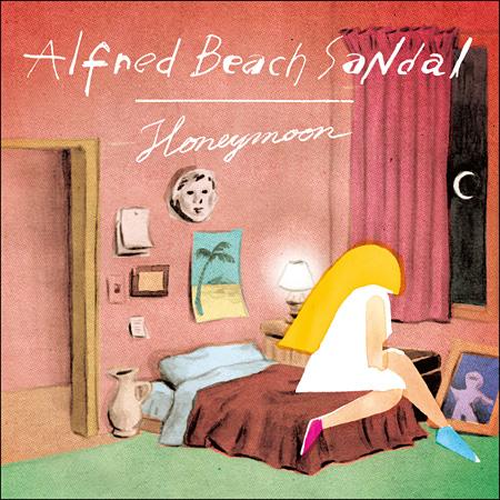 Alfred Beach Sandal『Honeymoon』ジャケット