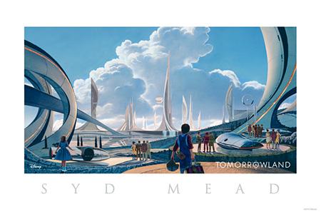 『トゥモローランド』コンセプトアート © 2014 Disney Enterprise,inc. All Rights Reserved.