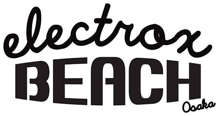 『electrox beach osaka』ロゴ