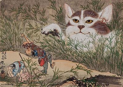 河鍋暁斎『惺々狂斎画帖(三)』(20図のうち) 明治3(1870)年以前 個人蔵 後期のみ