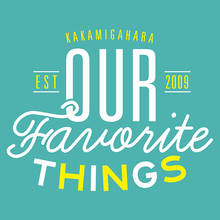 『OUR FAVORITE THINGS』ロゴ