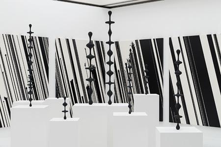 『ミッション[宇宙x芸術]-コスモロジーを超えて』 (東京都現代美術館、2014年) 展示風景、撮影:表恒匡