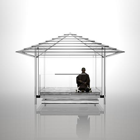 『光庵 - ガラスの茶室』イメージビジュアル