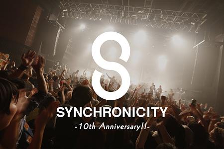 『SYNCHRONICITY'15 - 10th Anniversary!! -』メインビジュアル