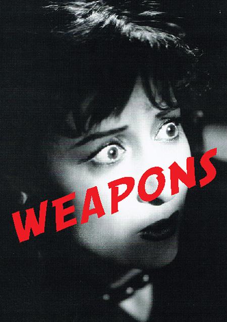 ジェフ・ミルズ『WEAPONS:-音楽に関連するアバンギャルドなオブジェクトの小さなしかし強力なエキシビション』メインビジュアル