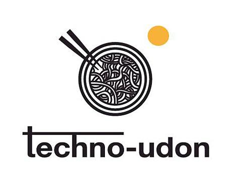 『テクノうどん』ロゴ