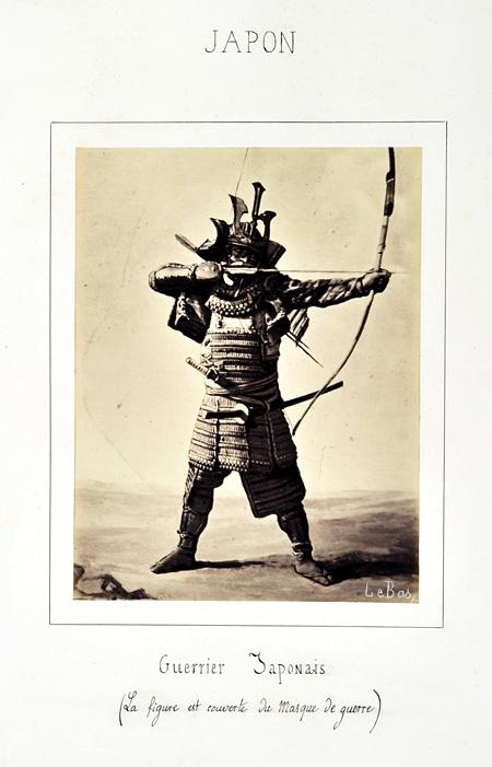 ギメ東洋美術館よりアポリネール・ル・バ『日本の武者』、1864 ©Guimet National Museum of Asian Arts