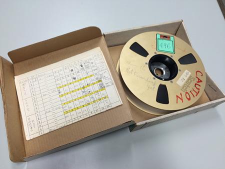 『シングル・マン』マルチトラックテープ