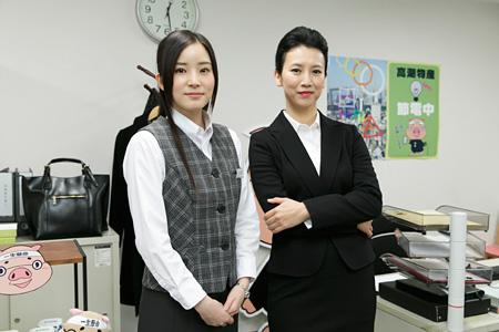 プレミアムよるドラマ『ランチのアッコちゃん』に出演する蓮佛美沙子(左)、戸田菜穂(右)
