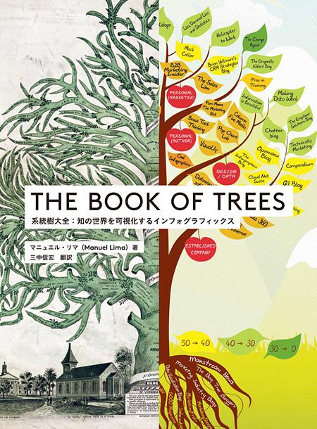 『THE BOOK OF TREES 系統樹大全:知の世界を可視化するインフォグラフィックス』表紙