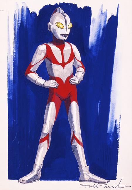 『ウルトラマン』1966年 ペン、水彩・紙 青森県立美術館蔵