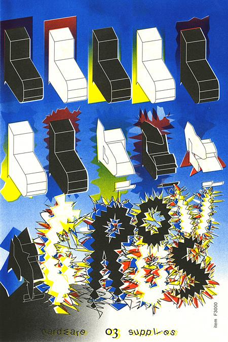 グランプリ Nejc Prah(Slovenia)『The Avocado ‒ Pecha Kucha poster / Super ‒ Sonic Hardware Ware house』ポスターB部門
