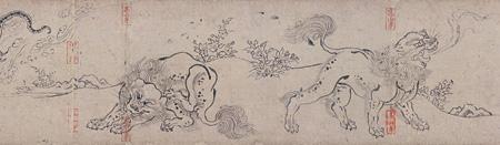 国宝『鳥獣人物戯画 乙巻(部分)』平安時代・12世紀 京都・高山寺 後期展示