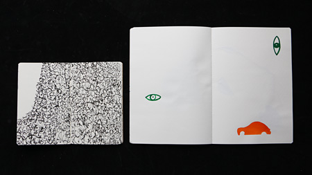 小金沢健人『けものみち(部分)』2015 notebook, Courtesy of the artist and TALION GALLERY