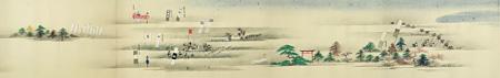 『関ケ原合戦絵巻』東京都江戸東京博物館蔵