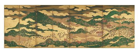 重要文化財『関ヶ原合戦図屏風』左隻 大阪歴史博物館蔵