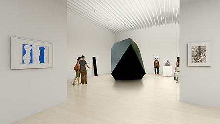 『シンプルなかたち展:美はどこからくるのか』展示風景イメージ ©MORI ART MUSEUM All Rights Reserved.