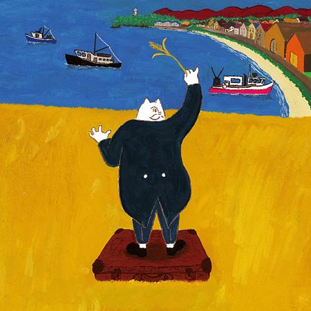 トクマルシューゴ指揮 麦ふみクーツェ楽団『舞台「麦ふみクーツェ」オリジナルサウンドトラック集』ジャケット