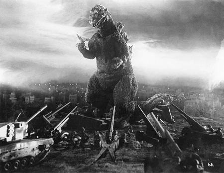 1954年公開『ゴジラ』より ©TOHO CO.,LTD.