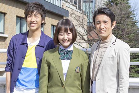 左から池岡亮介、木村玲衣、西川浩幸