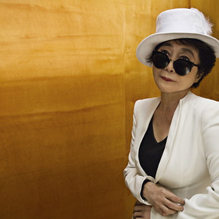 オノ・ヨーコ Photo by Kate Garner ©Yoko Ono