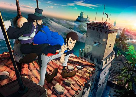 『ルパン三世』新シリーズ キービジュアル 原作:モンキー・パンチ ©TMS
